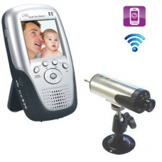 2.5-Inch 2.4Ghz Wireless Baby Monitor DVR Kit with Motion Detection and Mobile View