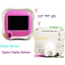"Pink Wireless 3.5"" TFT Baby Monitor Camera with Night Vision and Remote Control"