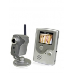 2.5-inch 2.4GHz Wireless Baby Monitor Camera System with Night Vision and Microphone