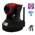 Transformer H.264 Pan-Tilt Wifi Wireless Baby Camera with Motion Detection Mobile View and 2-Way Audio