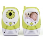 2.5-inch LCD Screen 2.4GHz Wireless Wifi Digital Baby Monitor Camera System with Night Vision Motion and Voice Detection