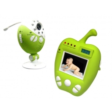 2.5'' LCD Screen Wireless Wifi Baby Monitor Camera Kit with Motion Detection and Alarm