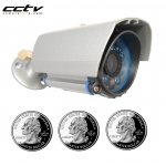 600TVL 1/3 SONY 3.6mm IR Indoor/Outdoor CCTV Bullet Camera with Bracket