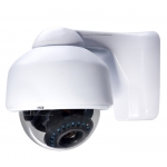 420TVL 1/4 SHARP CCD 4-9mm Outdoor/Indoor IR Day/Night Vandal Proof 3-Axis Dome Bracket CCTV Camera with BLC, AES and Bracket
