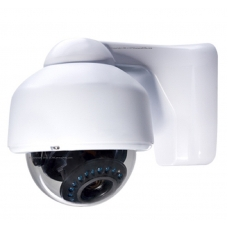 600TVL 1/3 SHARP CCD 4-9mm Outdoor/Indoor IR Day/Night Vandal Proof 3-Axis Dome Bracket CCTV Camera with BLC, AES and Bracket