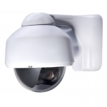 420TVL 1/4 SHARP CCD 4-9mm Outdoor/Indoor Vandal Proof 3-Axis Dome Bracket CCTV Camera with OSD Menu and Bracket