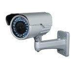 1/3 SHARP CCD 600TVL 6-15mm Outdoor IR CCTV Bracket Bullet Camera with OSD Control