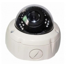 Heavy Duty 650TVL 1/3 Sony Super HAD CCD II 2.8-12mm Varifocal Lens IR 160FT All-weather IP67 Vandal-proof CCTV Dome Camera with OSD Menu WDR and Smart IR