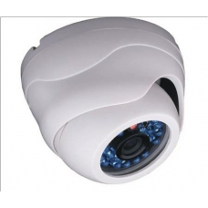600TVL 1/3 SHARP CCD 6mm Indoor Day/Night IR20 CCTV Dome Camera