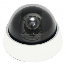 600TVL 1/3 Sharp CCD 2.8-12mm Varifocal Indoor CCTV Dome Camera with 3-Axis Bracket