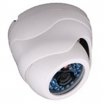 420TVL 1/4 SHARP CCD 6mm Indoor Day/Night IR20 CCTV Dome Camera