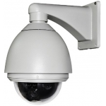 6.9-Inch 540TVL Outdoor / Indoor 26X Zoom Speed Dome PTZ CCTV Camera