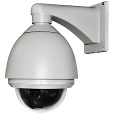 6.9-Inch 480TVL Outdoor / Indoor 23X Zoom Speed Dome PTZ CCTV Camera WDR