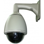 6.9-Inch 530TVL Double Layers Outdoor / Indoor 36X Zoom Speed Dome PTZ CCTV Camera