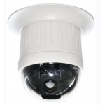 6.9-Inch 480TVL Indoor In-ceiling 23X Zoom Speed Dome PTZ CCTV Camera with OSD Menu