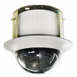6.9-Inch 480TVL Indoor Surface-Mount 23X Zoom Speed Dome PTZ CCTV Camera with OSD Menu