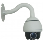 4-Inch 540TVL SONY CCD 10X Zoom IR Infrared Indoor Mini Speed Dome CCTV Camera PTZ Camera