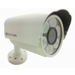 2 MP Mega Pixel 1080P SDI 12mm Waterproof All-weather Vandalproof CCTV Bullet Camera with 6 White Light LED Bulbs