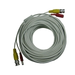 30 Feet BNC Video Output Cable for CCTV System Installation