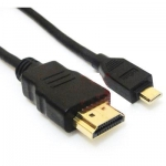 1.5M 4.5FT Gold Plated HDMI to Micro HDMI Type A to Type D Cable For HD 1080P HD-SDI and HDMI CCTV Camera DVRs