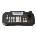 Intelligent 3D CCTV Multifunction PTZ Keybaord controller