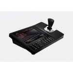 "8""Digital Touch Screen CCTV Multifunction PTZ controller supports USB connection to PC and compatible with IP camera"