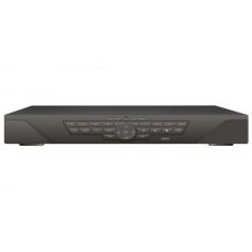 24 Channel H.264 Networked HD DVR with Real-time Display, Playback, Alarm RJ45, USB and Mobile Access Capable of 4TB Hard drive