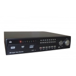 Full D1 Real Time 8-Channel H.264 Networked High Definition CCTV Video Recorder with PTZ control and compatible with 4 pcs of Sata HDD