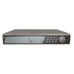 Real Time 8-Channel H.264 Networked High Definition CCTV Video Recorder with PTZ control and mutiple audio and compatible with 2 pcs of Sata HDD