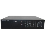 24-Channel H.264 Networked High Definition CCTV Video Recorder compatible with 2 SATA HDD and SD card back up