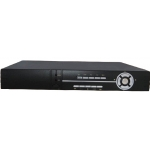 Real Time 8-Channel H.264 Networked High Definition CCTV Video Recorder with PTZ control and mutiple audio and alarm input