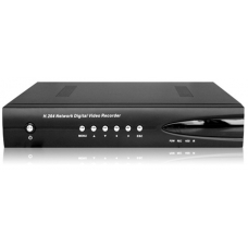 8-Channel H.264 Networked High Definition CCTV Video Recorder with PTZ control and mobile login and loop output
