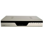 Professional Compact-Design 4-Channel H.264 Networked High Definition CCTV Video Recorder with multi audio input