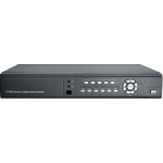 8-Channel H.264 Networked High Definition CCTV Video Recorder with alarm input and PTZ control