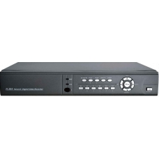 Full D1 realtime recording Compact-Design 4-Channel H.264 Networked High Definition CCTV Video Recorder