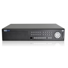 HDMI port 16-Channel H.264 Networked High Definition CCTV Video Recorder compatible with TV wall
