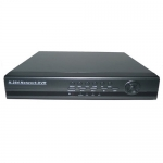 8-Channel H.264 Networked High Definition CCTV Video Recorder with PTZ control and mobile login