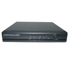 4-Channel H.264 Networked High Definition CCTV Video Recorder with PTZ control and mobile login and support 1 pcs of HDD