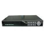 D1 Real Time 4-Channel H.264 Networked High Definition CCTV Video Recorder with remote control and multiple audio and alarm input