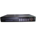 Real Time 8-Channel H.264 Networked High Definition CCTV Video Recorder with PTZ control and alarm function