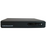 4-Channel H.264 Networked High Definition CCTV Video Recorder with PTZ control and mobile login