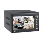 All in one 4-Channel Full D1 H.264 Networked High Definition CCTV Video Recorder with 7 Inch Hidden TFT monitor