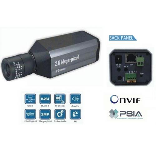 High Definition 1/3 SONY CCD 540TVL IP network box camera