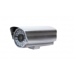 Outdoor / Indoor Waterproof 2x Optical Zoom Bullet IP Camera 1/4 CMOS with Infrared Mobile Access and Snapshot