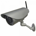 2 Mega Pixel H.264 Wireless Waterproof Bullet IR 50M IP Camera with 2.8-12mm Varifocal Lens