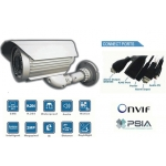 High Definition Waterproof 1/3 SONY CCD 540TVL 8mm Day/Night Vision IR 35M IP network bullet camera PoE Onvif conformant