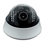 Wireless High Definition CMOS IR 15M Dome IP Camera 3-Axis