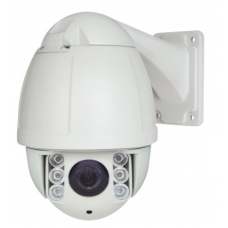 540TVL D1 IP Speed Dome PTZ Camera with 3.6-97.2mm Zoom and Array LED 360-450 Feet IR Distance