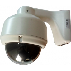 3.5-Inch 10X Digital Zoom 530TVL Outdoor Zoom Speed Dome PTZ IP Camera Onvif Conformant