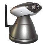 Wireless Pan Tilt IP Camera with Mobile Browsing